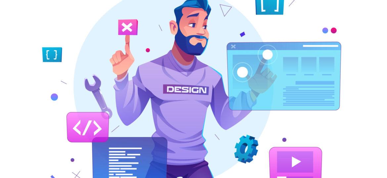 Web development, programmer engineering website